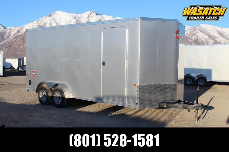 Charmac Trailers 7x18 Stealth Enclosed Cargo Trailer w/ UTV Package