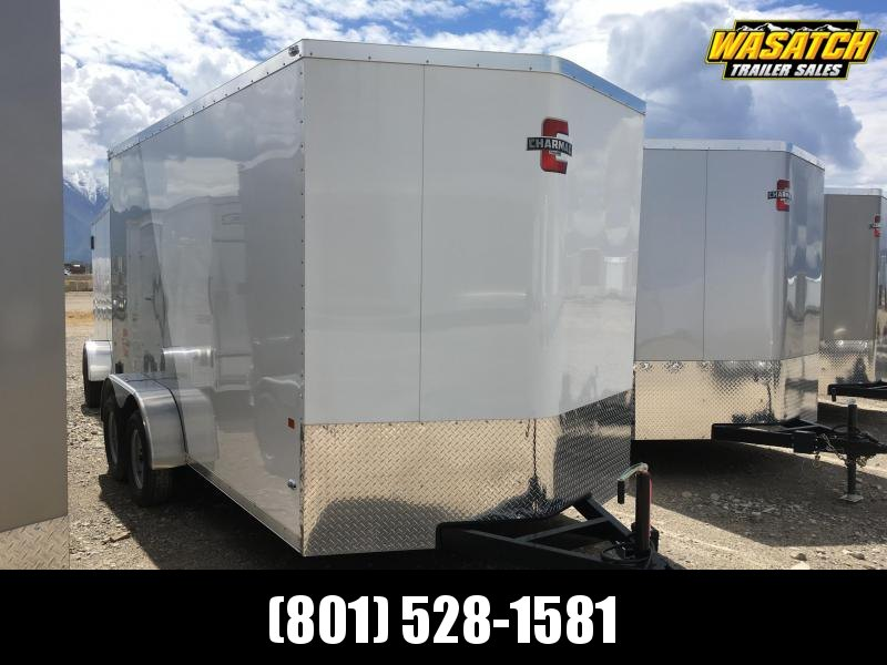 Charmac 7x14 Stealth Enclosed Steel Cargo w/ UTV Package