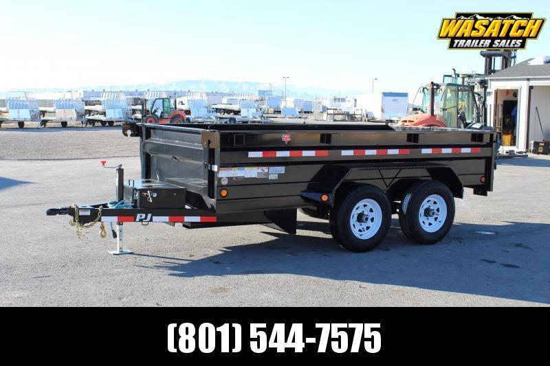 PJ 6x12 Tandem Axle (D3) Dump Trailer