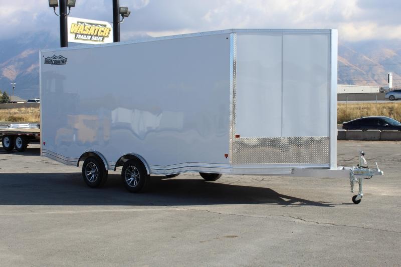 High Country 8.5x23 Peak Value Snowmobile Trailer