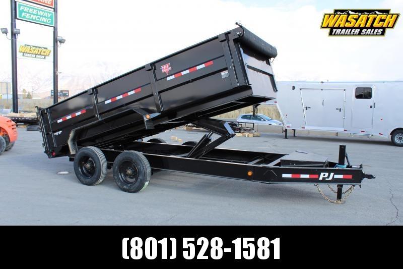 PJ Trailers 7x16 HD Low-Pro (DE) Dump Trailer 20.000 GVWR