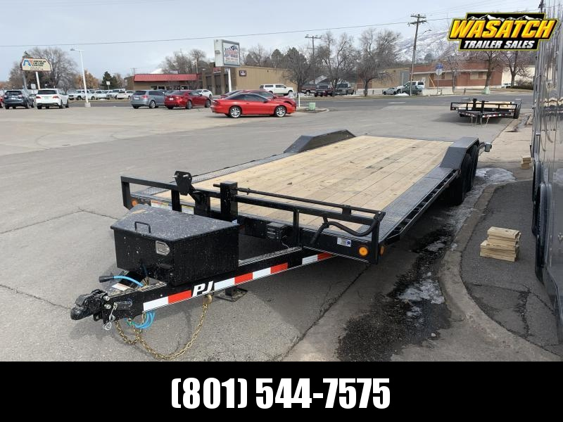 PJ 24 ft - 6 in Channel Super-Wide (B6) Car / Racing Trailer