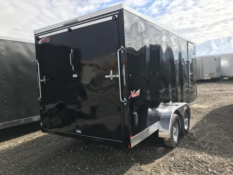 Mirage 7x16 Xpres Enclosed Steel Cargo w/ V-nose