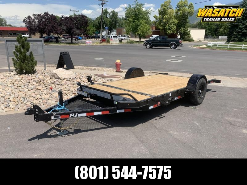 PJ 16' - Single Axle HD Tilt (T1) Equipment Trailer