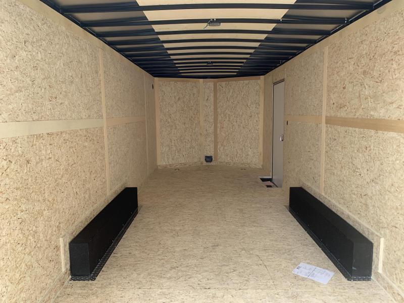 2020 Haulmark 8.5x20 Transport w/ UTV Package Enclosed Cargo Trailer