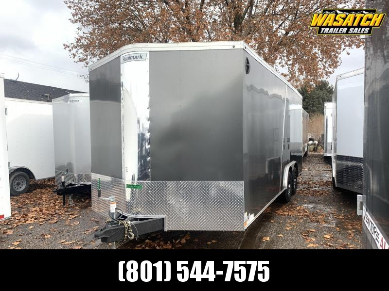 2020 Haulmark 8.5x20 Transport w/ UTV Package Enclosed Cargo Trailer