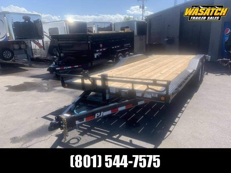 2020 PJ Trailers 20ft - 6 in. Channel Super-Wide (B6) Car / Racing Trailer