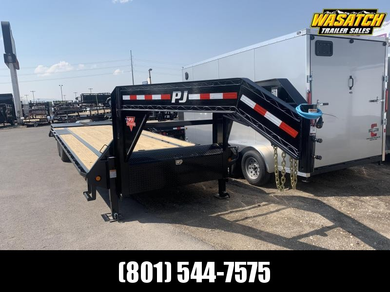 2020 PJ Trailers Low-Pro Flatdeck with Singles (LS) Flatbed Trailer