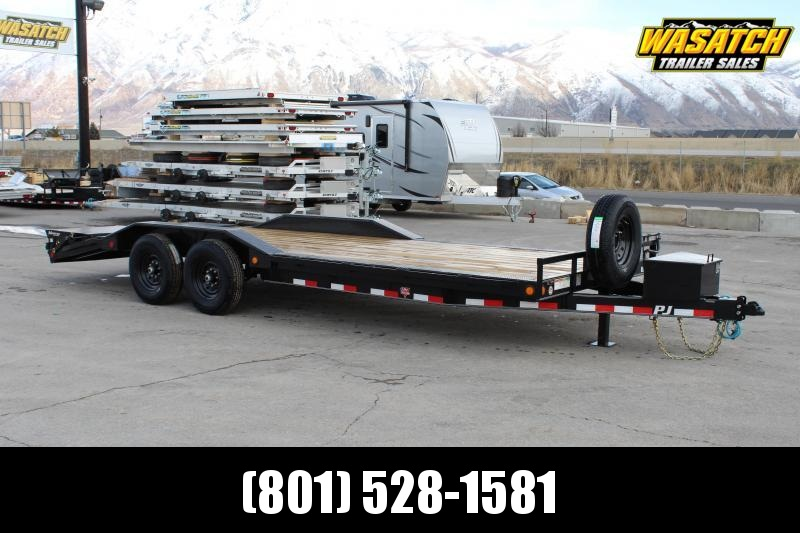 "PJ Trailers 8.5x22 6"" Channel Super-Wide (B6) Buggy Hauler"