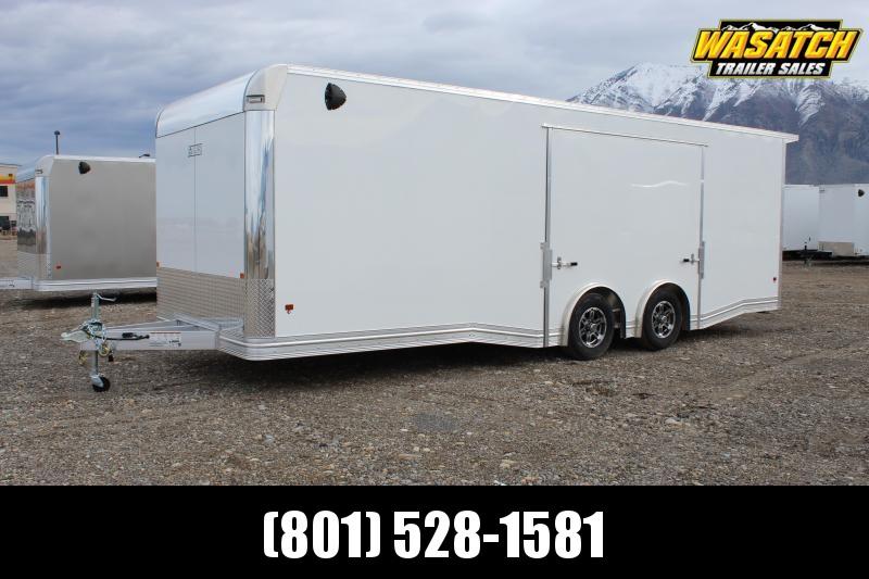 Alcom 8.5x24 EzHauler Aluminum Enclosed Car / Racing Trailer