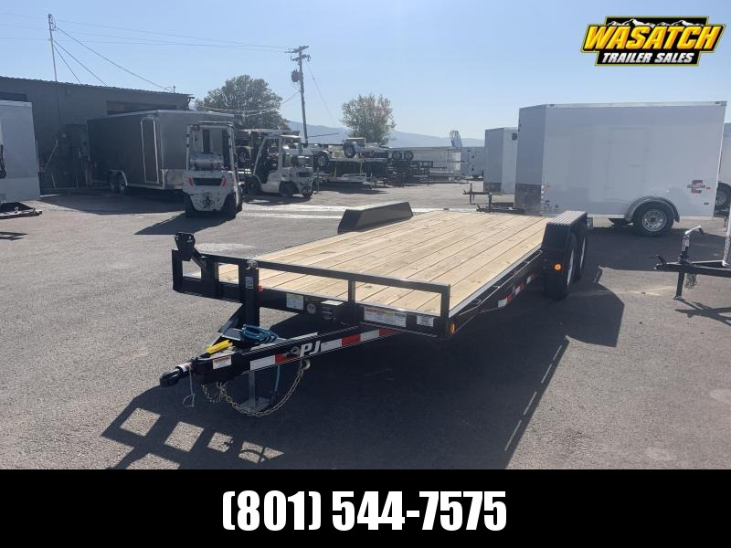2020 PJ Trailers 5 in. Channel Equipment (CE) Equipment Trailer