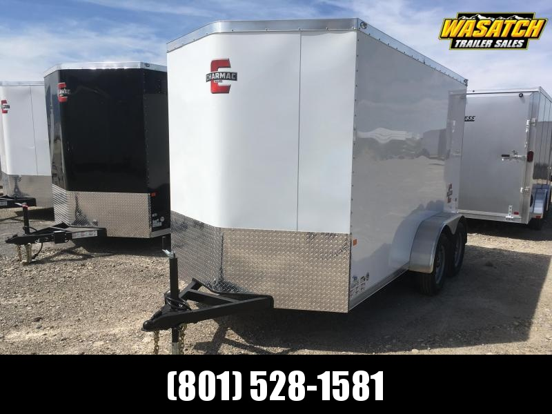 Charmac 6x12 Stealth Enclosed Steel Cargo w/ V-nose