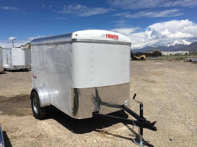 Mirage 5x8 Xcel Enclosed Steel Cargo w/ V-nose