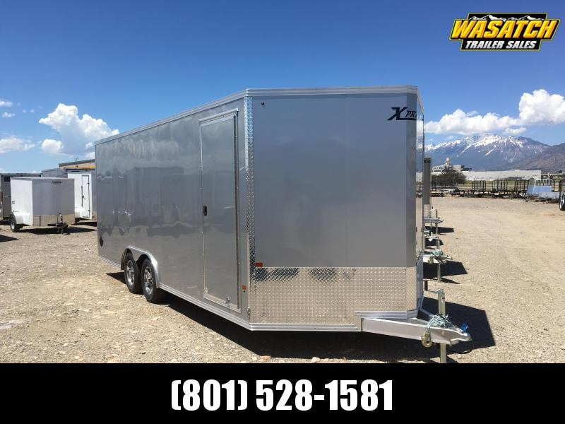 High Country 8x20 Xpress Enclosed Aluminum Cargo w/ White Walls