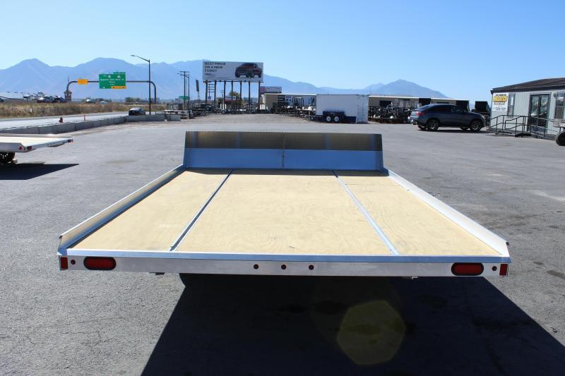 Aluma 8.5x12 Aluminum Tilt Snowmobile Trailer