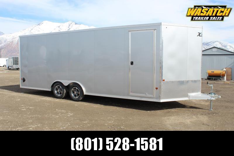 High Country 8.5x22 Xpress Aluminum Enclosed Car / Racing Trailer