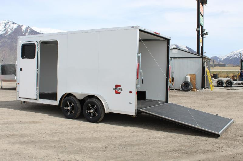 Charmac Trailers 7.5x16 Stealth Cargo Enclosed Cargo Trailer w/ UTV Package