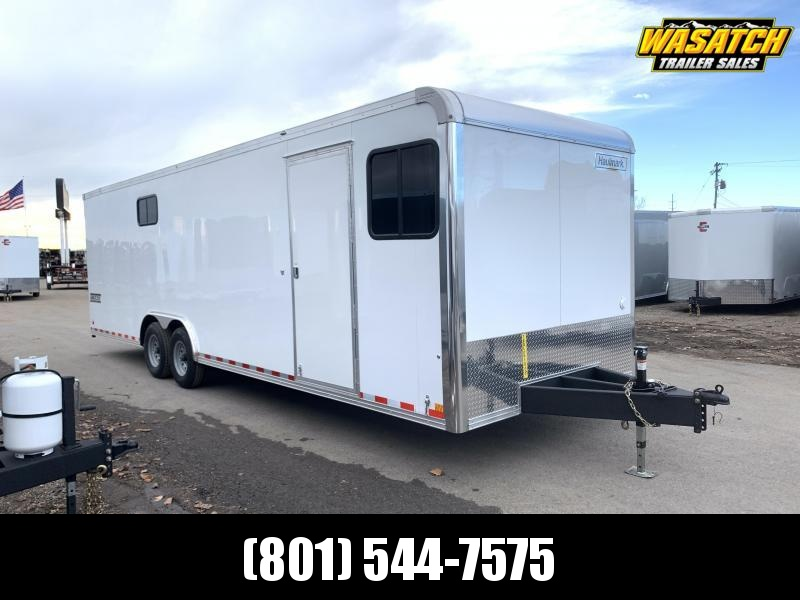 2020 Haulmark 8.5x28 Grizzly HD Enclosed Cargo Trailer