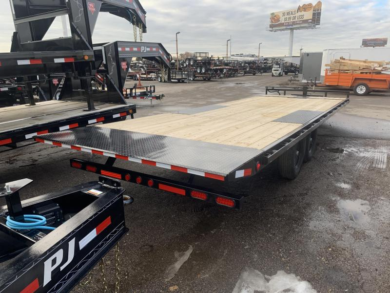 2020 PJ Trailers 24 ft - Deckover Tilt (T8) Equipment Trailer