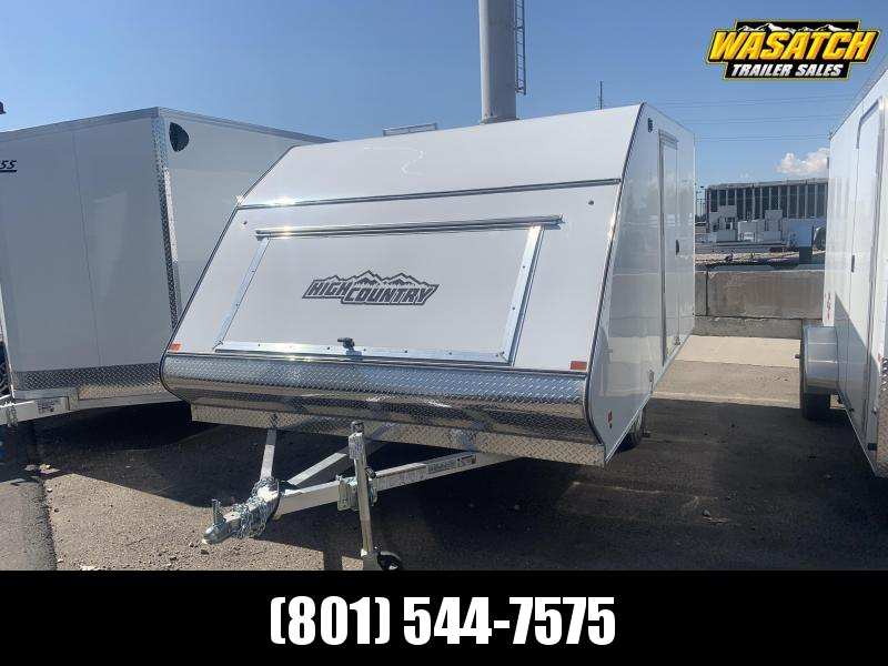 2020 High Country 12ft Crossover Snowmobile Trailer