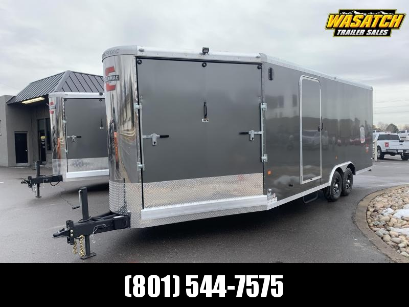 2020 Charmac Trailers 26 ft Stealth Tri Sport Snowmobile Trailer
