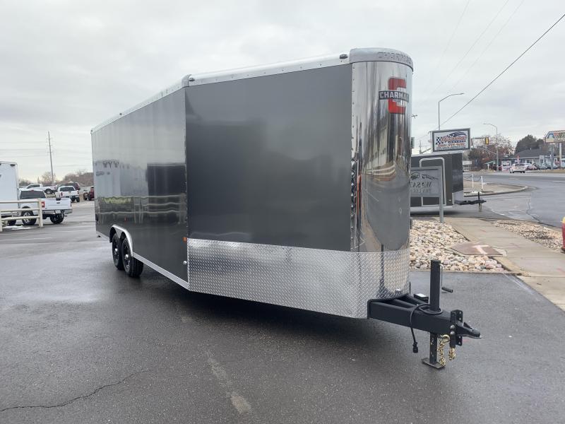 2020 Charmac Trailers 26 ft Stealth Tri Sport Snowmobile Trailer