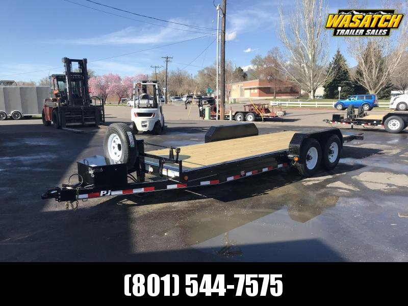 PJ 6x20 Powered Full Tilt (TF) Equipment Trailer