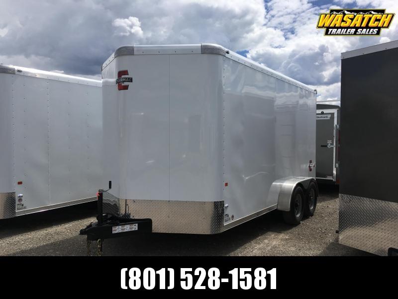 Charmac 7x14 Standard Duty Enclosed Steel Cargo w/ V-nose