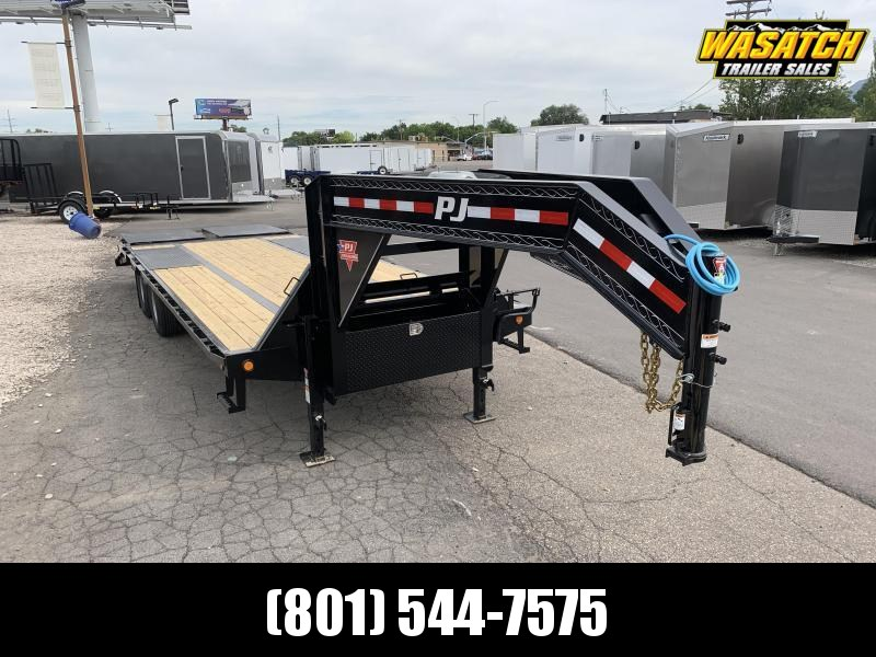 PJ 28 ft - Low-Pro w/ Duals (LD) Flatbed Trailer