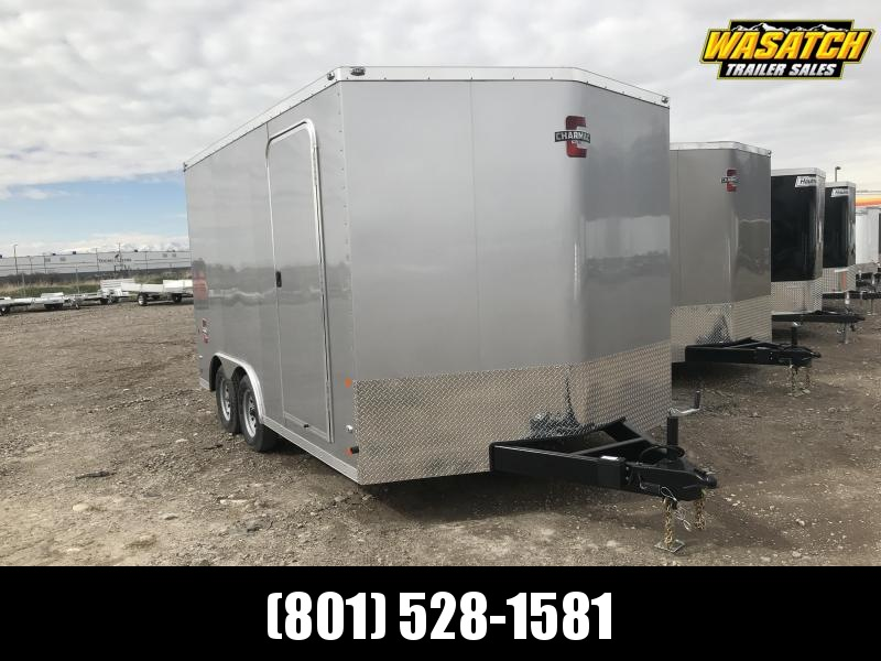 Charmac 100x14 Stealth Enclosed Steel Cargo w/ V-nose