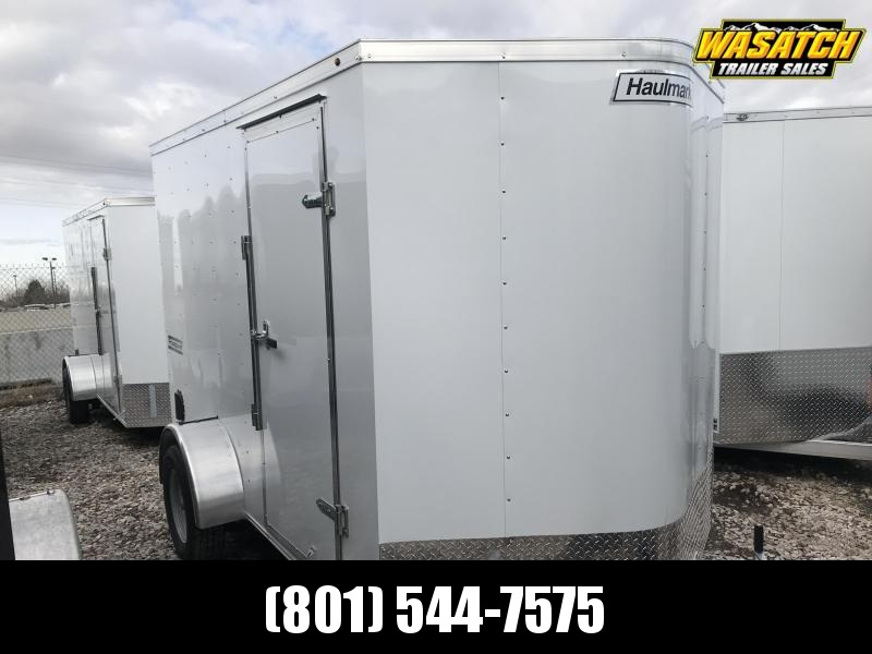 Haulmark White 6x10 Passport with Ramp Enclosed Cargo Trailer