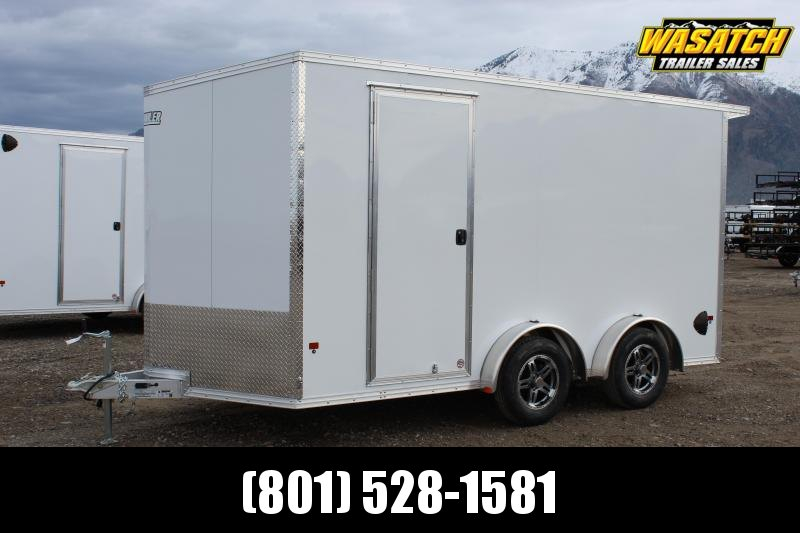 Alcom 7.5x14 EzHauler Aluminum Enclosed Cargo Trailer w/ UTV Package