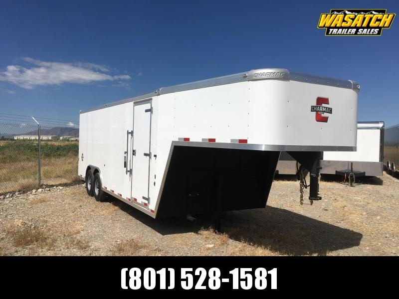 Charmac 8.5x22 Enclosed Gooseneck Cargo