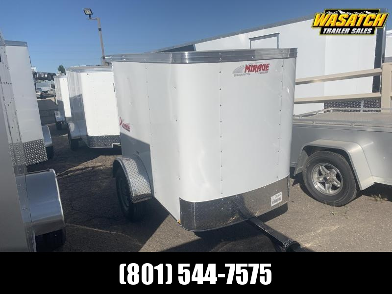 2020 Mirage Trailers 4x6 Xpres Enclosed Cargo Trailer
