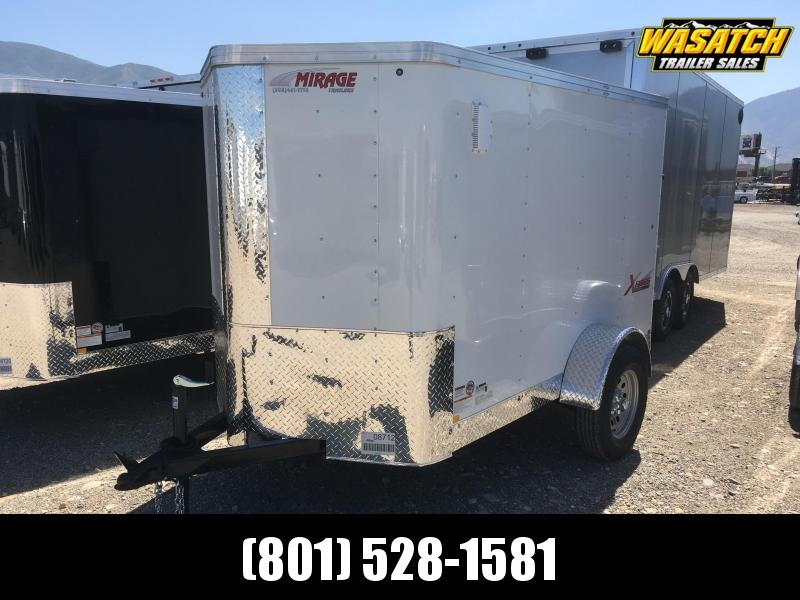 Mirage 5x8 Xpres Enclosed Steel Cargo w/ V- nose