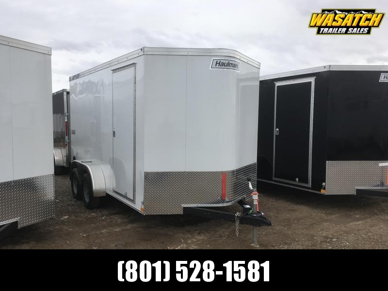 Haulmark 7x14 Transport Enclosed Steel Cargo w/ V-nose