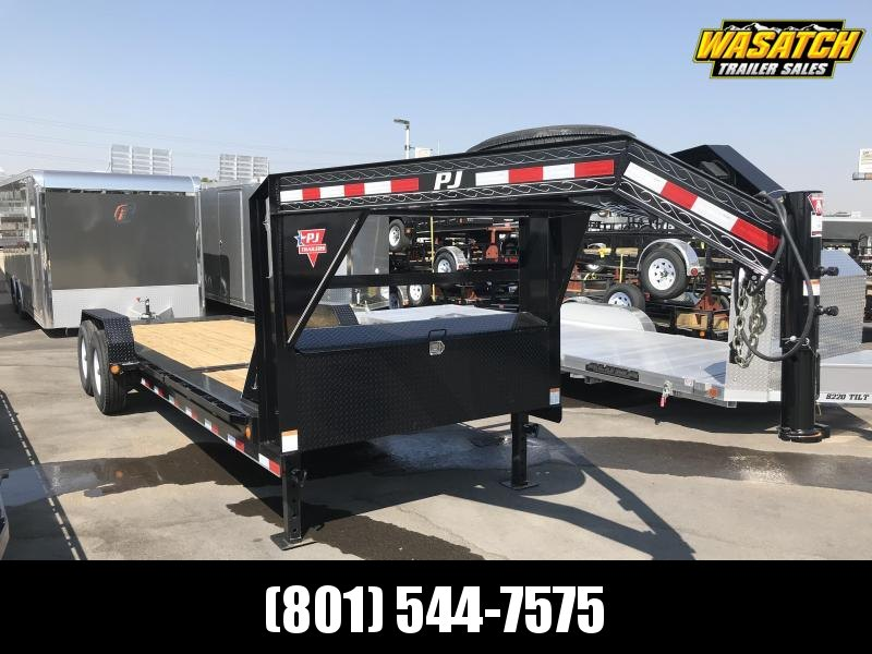 2020 PJ Trailers 20ft - HD Equipment Tilt 6 in. Channel (TJ) Equipment Trailer