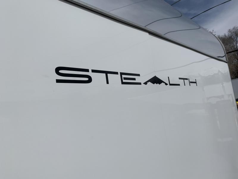 Alcom-Stealth 8x24 Stealth Car / Racing Trailer