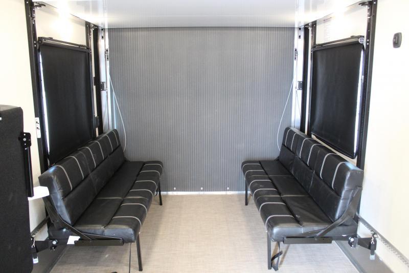 ATC 8.5x29 Front Bedroom All Aluminum Toy Hauler RV