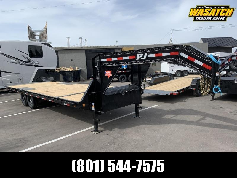 PJ 26' Deckover Tilt (T8) Equipment Trailer