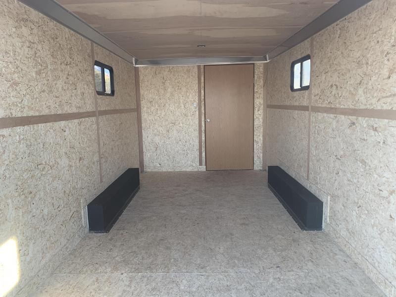 2020 Haulmark 8x24 Heavy Duty Grizzly Jobsite Enclosed Cargo Trailer