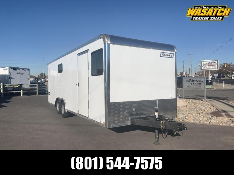 2020 Haulmark 8x24 Heavy Duty Grizzly Jobsite Enclosed Cargo Trailer
