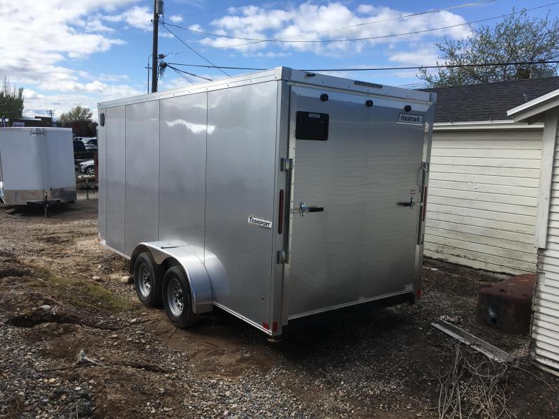 2019 Haulmark 7x16 Transport Enclosed Cargo Trailer w/ UTV Package