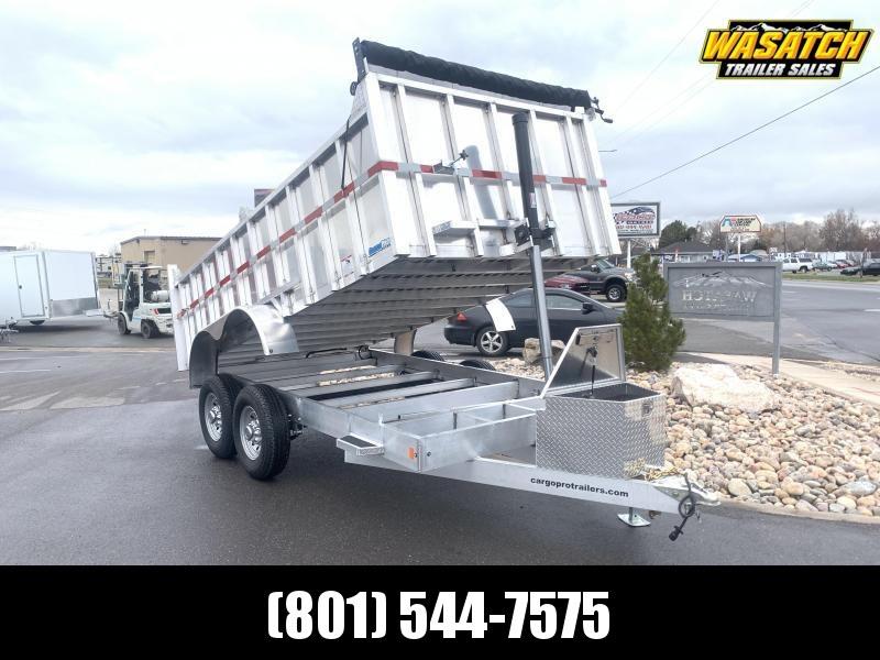 CargoPro Aluminum 7x16 Dump