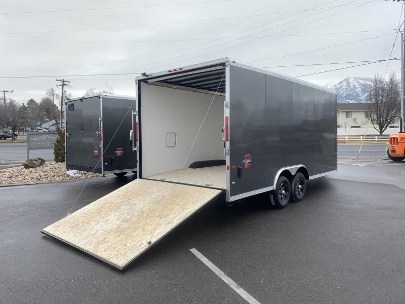 2020 Charmac Trailers 24 ft Stealth Tri Sport Snowmobile Trailer