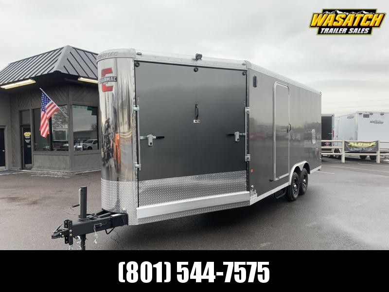 2020 Charmac Trailers 24 ft Stealth Tri Sport Snowmobile Trailer