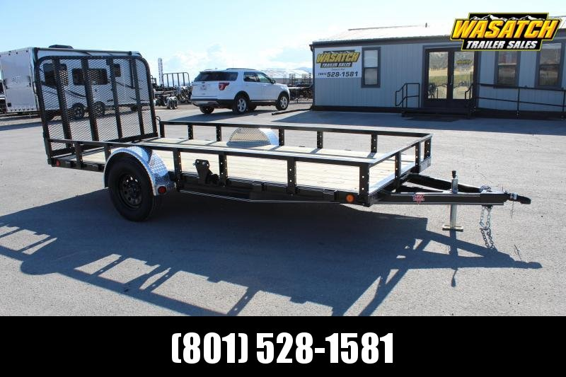 ***PJ Trailers 6.5x14 Single Axle Channel (U7) Utility Trailer***