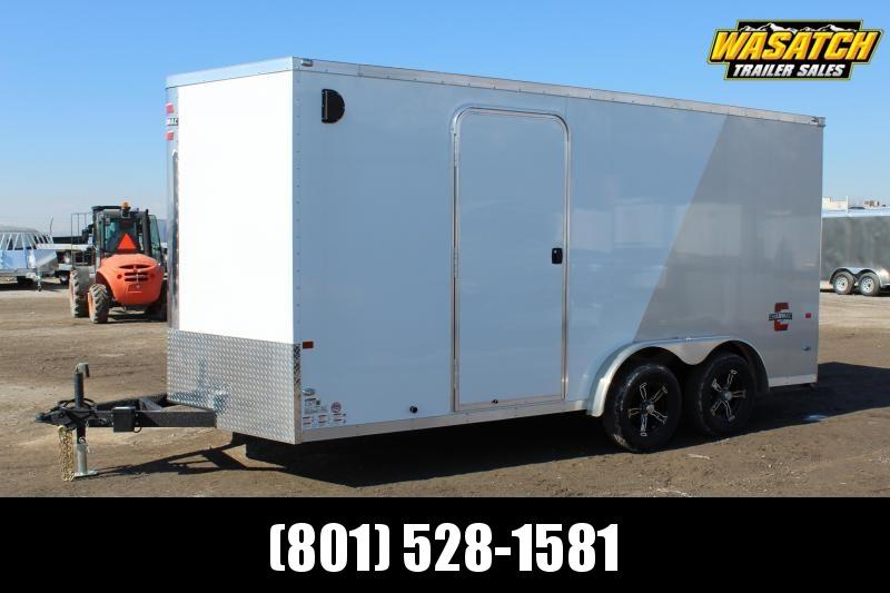 PJ Trailers 7.5x16 Stealth Enclosed Cargo Trailer w/ UTV Package