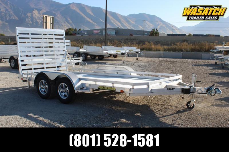 Aluma 78x14 Aluminum Utility Trailer