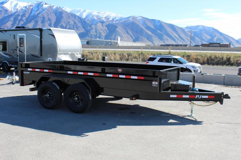 PJ Trailers 7x14 Economy I-Beam (DG) 14k Dump Trailer
